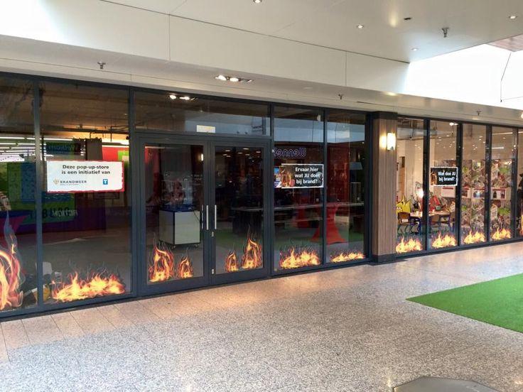 Nu in Tilburg: een pop-up store die tools en tips geeft om eigen brandveiligheid te verhogen. Brandveiligheid regel je zelf.