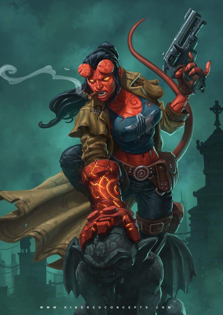 Best 25 Hellboy Costume Ideas On Pinterest  Female -6519