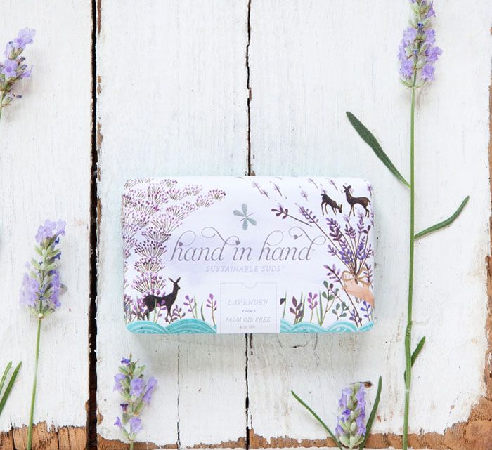 hand in hand lavenderHands Packaging, Hands Soaps, Emma Block, Beautiful, Lavender Soaps, Packaging Design, Art Direction, Fair Trade, Soaps Packaging