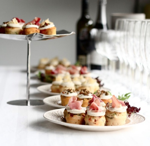 #Ghermez savoury #cupcakes perfect for dinner parties and office functions!