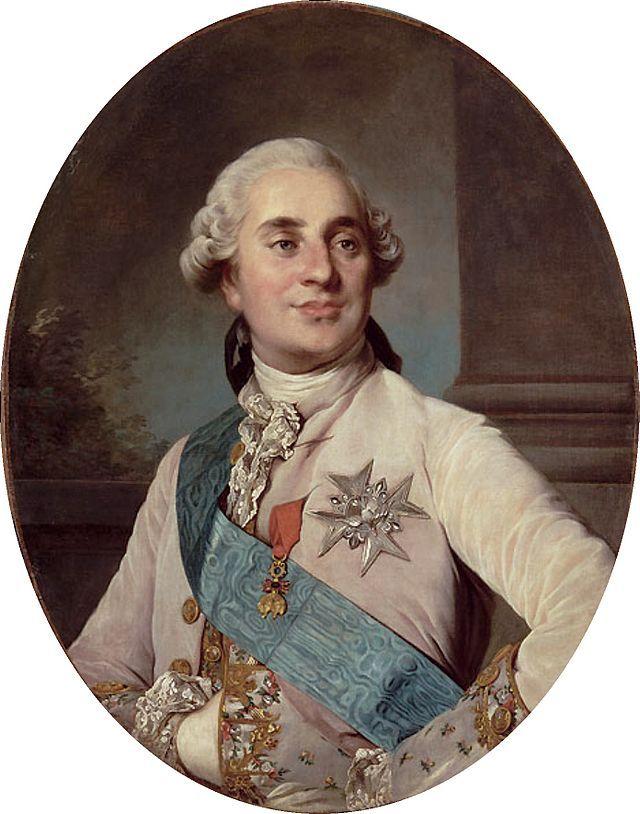 """""""Louis XVI, aos 20 anos de Idade"""".  (by Joseph-Siffrein Duplessis)."""