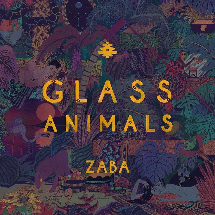 13++ Glass animals zaba vinyl images