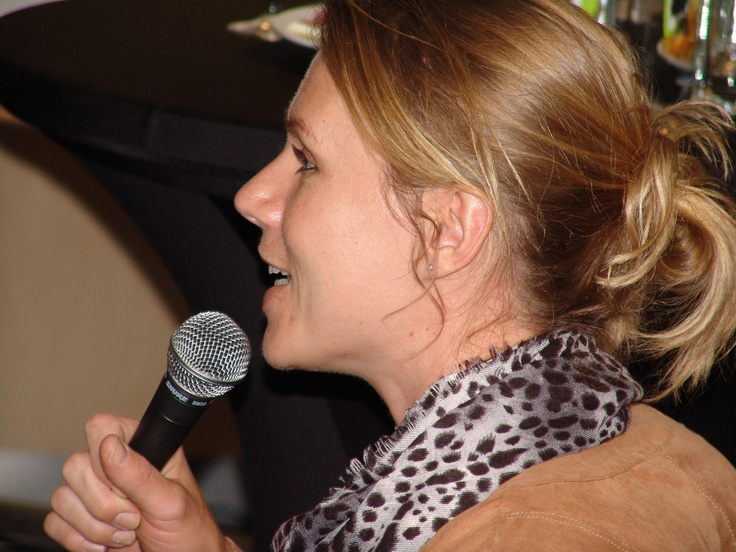 Toespraak rolstoeltennisster Esther Vergeer