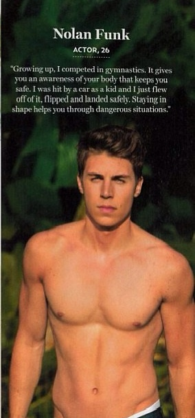 Nolan Funk, Actor, Age 26. Is this true. It's so silly