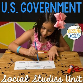 This social studies pack includes graphic organizers, formats, and activities to work with the concepts of the United States government. They are perfect to use to gather and record information from sources.
