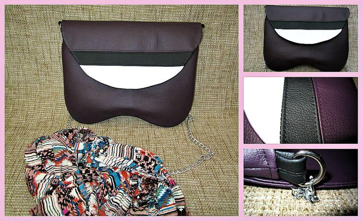 #Purple #exclusive #clutch #handcrafted #Kuzyo #Bags  #design #trendy #fashion #photo https://www.facebook.com/groups/kuzyobags/