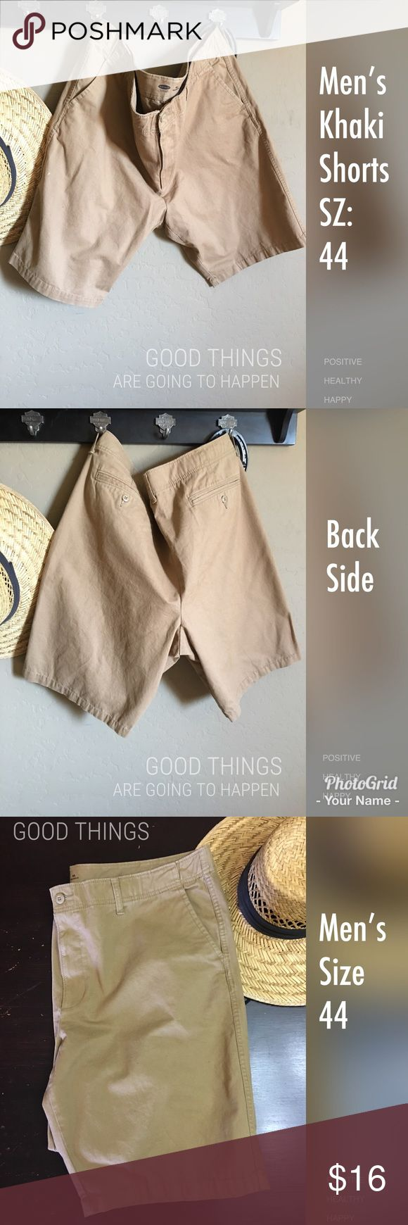 Men's Khaki Shorts Great condition used item. Old Navy men's Khaki Shorts. Size 44, great for your big and tall clothing. Any questions please ask Old Navy Shorts