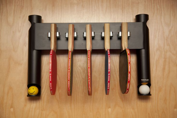 KITCHEN: ping pong paddle and ball holder