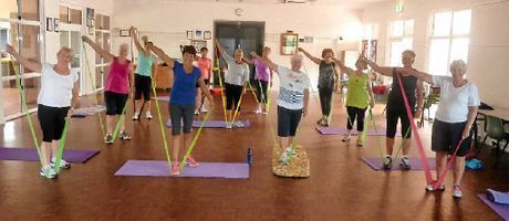 FITNESS FOR ALL: Leanne Shorter's fitness class in Woodgate is fit for all ages. | A great article about how mature adults (over 50s) can start exercising, even if they haven't done it for a long time. #health #fitness #inspiration #motivation