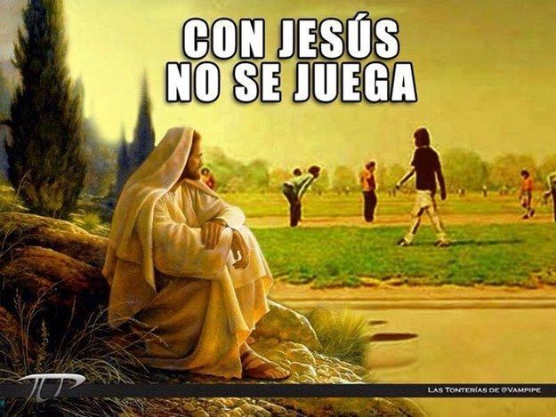 Creo que no entendieron el significado correcto de la frase. | 31 Memes de Jesús que fueron creados en el mismísimo infierno