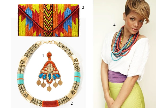 A Matter Of Style: DIY Fashion: DIY idea: tribal necklace with safety pins