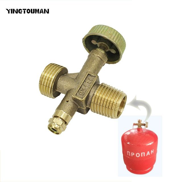 Picnic Gas Refill Adapter Outdoor Camping Stove Gas Cylinder Tank Refill Adapter