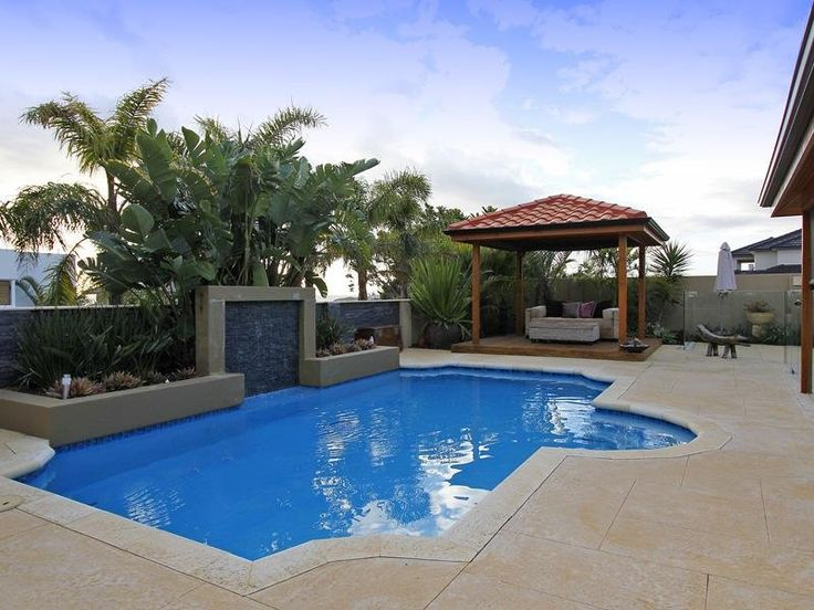 755 best pools images on pinterest swimming pools for Pool design retaining wall