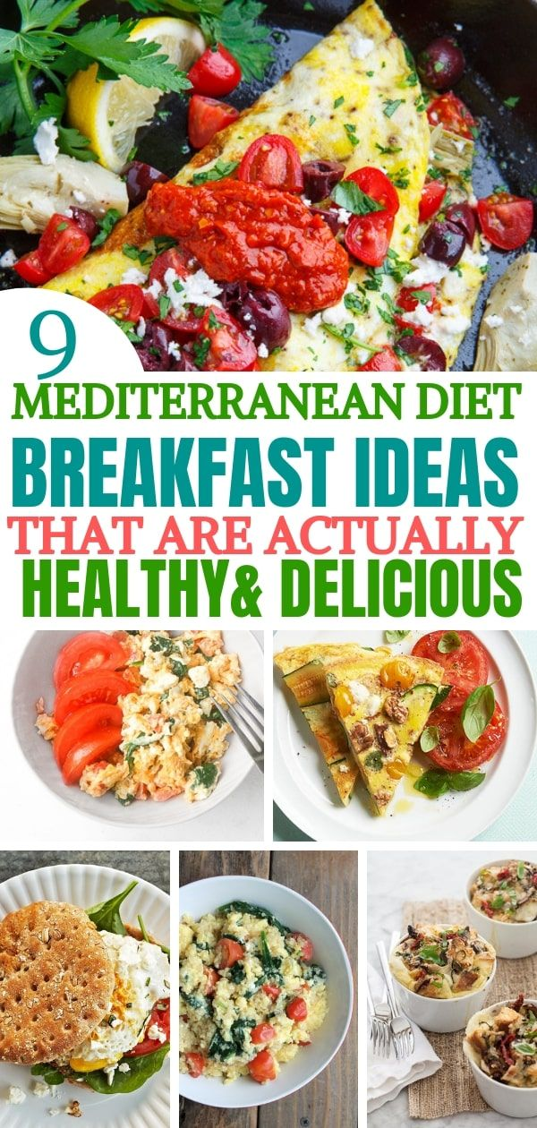 mediterranean diet breakfast ideas