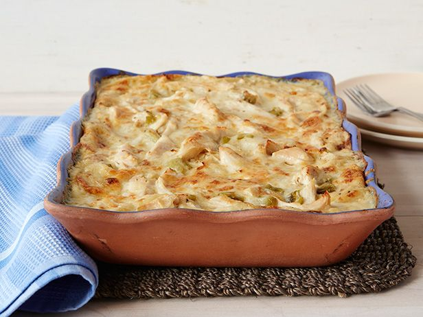 The key to this hearty Mexican-inspired casserole is Trisha's simple chicken-gravy base.