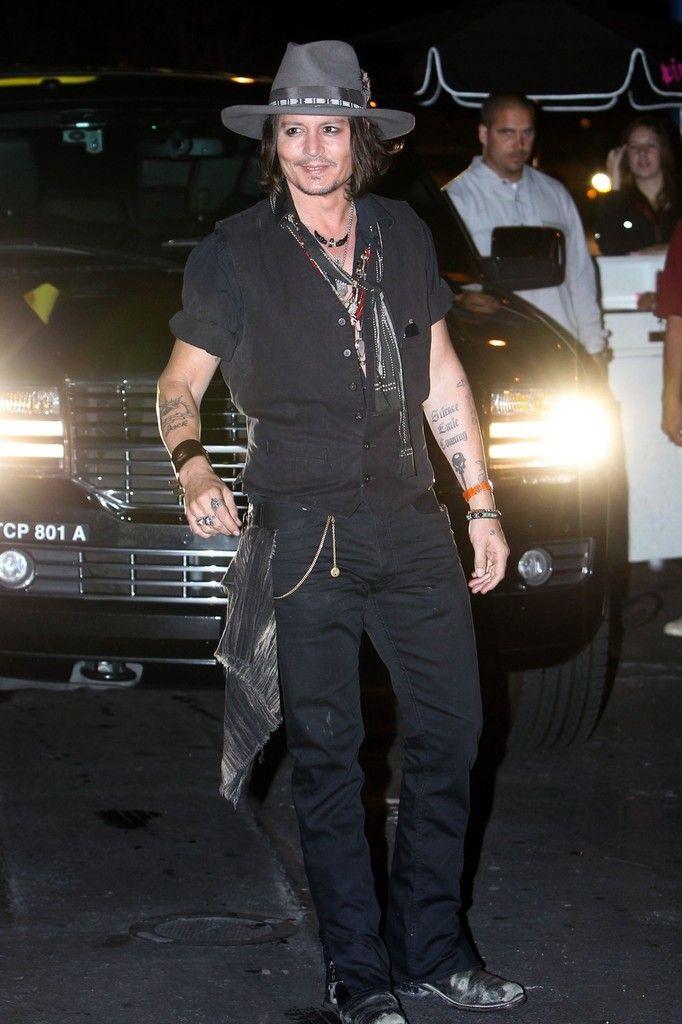 Johnny Depp Photo - Johnny Depp at the Pink Taco 2