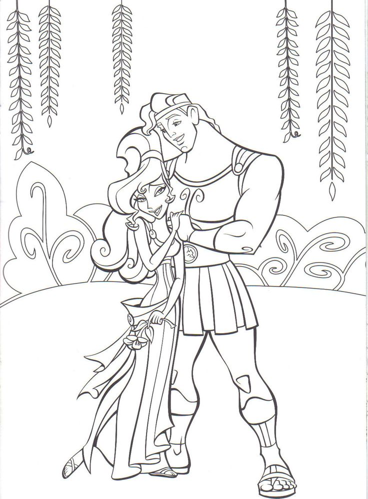9 best hercules disegni da colorare images on pinterest - Dessin a colorier disney ...