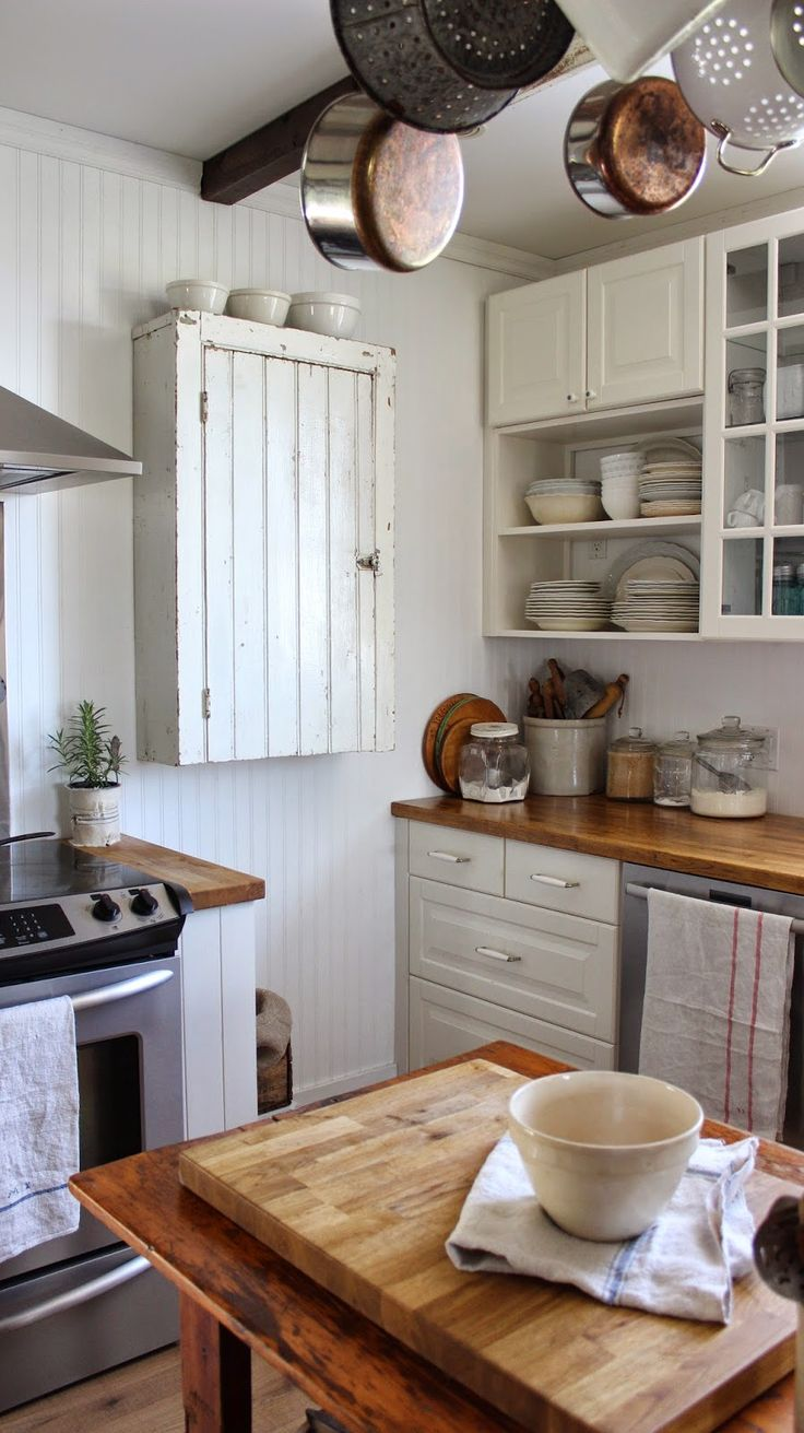 271 best modern cottage style kitchen images on pinterest live rustic farmhouse my wall cupboard finally up for mothers day