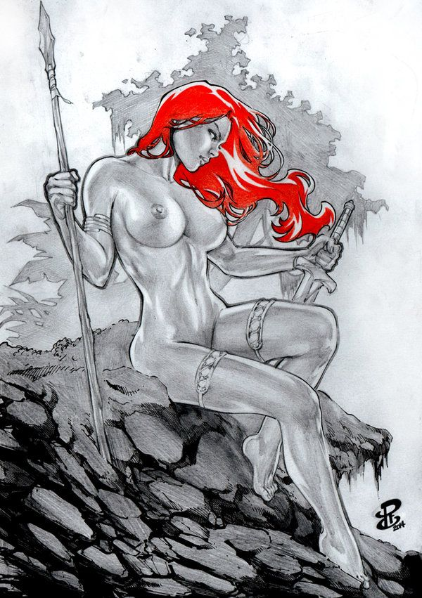 "gregshore: ""RC RedSonja New Renato Camilo (RC) Ebay Auction by renatocamilo """