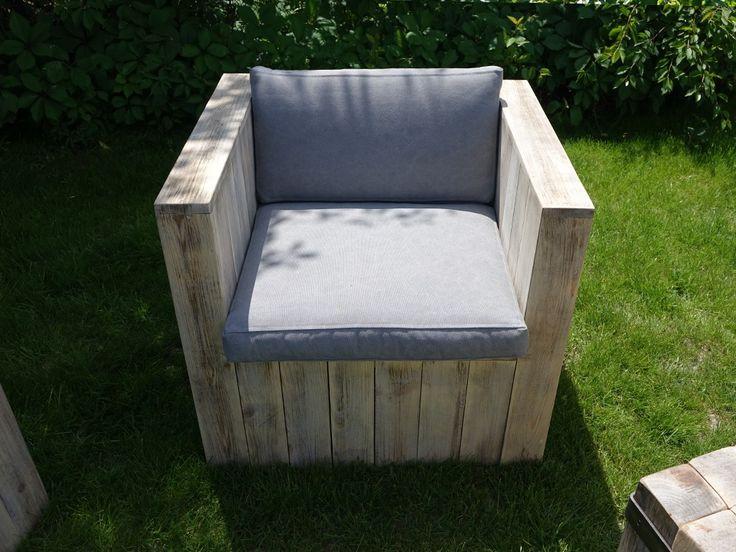 Fotel ogrodowy z poduszkami Thar