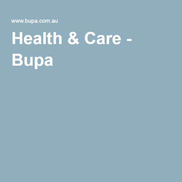 Health & Care - Bupa