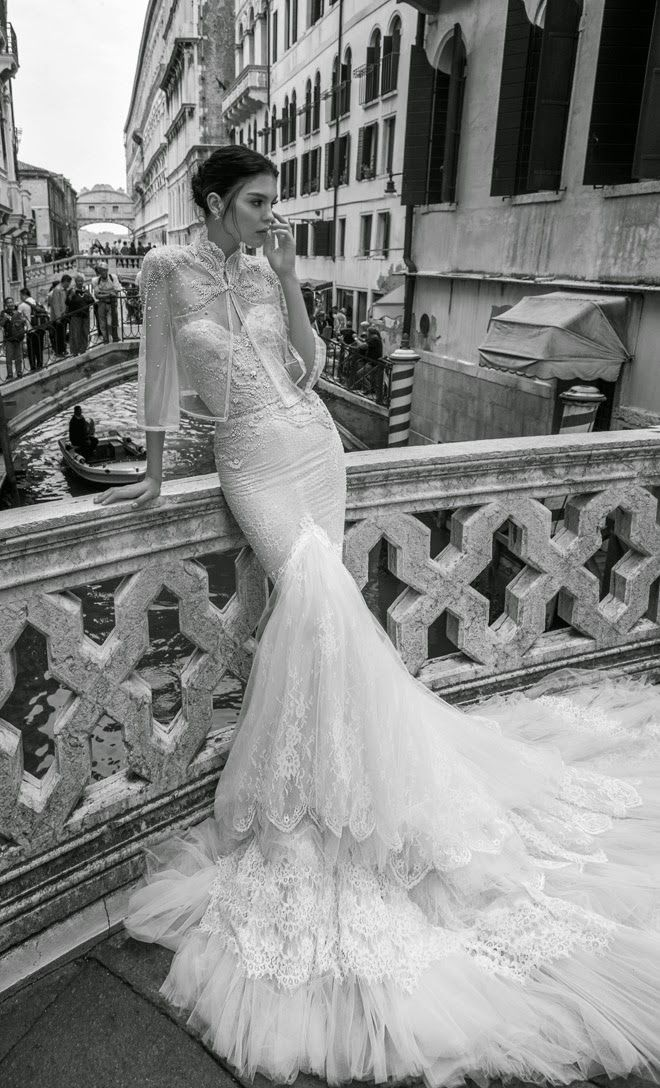 Inbal Dror 2015 Bridal Collection - Part 2 - Belle The Magazine. I love all of this designers bridal dresses.