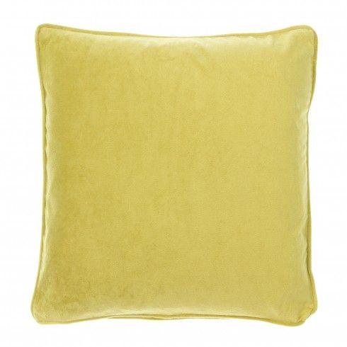 Velvet Cushion Lime