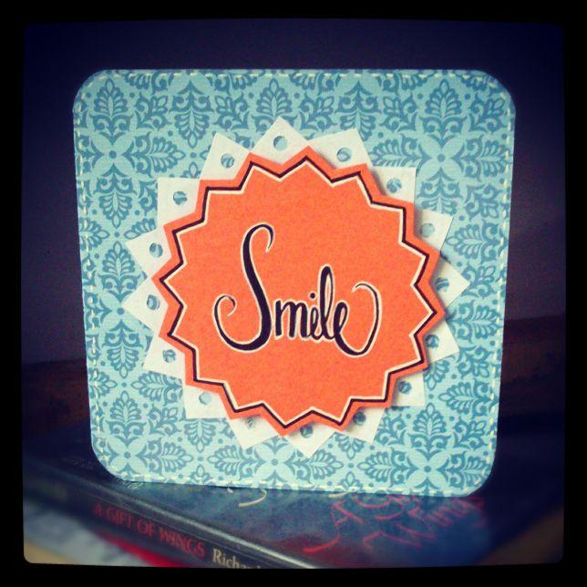 Smile card.