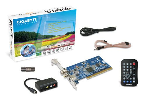 PC TV Tuner Card GIGABYTE NTSC PAL FM Radio Capture PCI slot Desktop Windows NEW #GIGABYTE