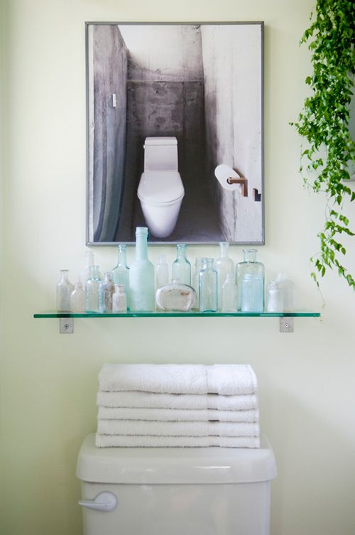 59 best Decorate - Bathroom images on Pinterest