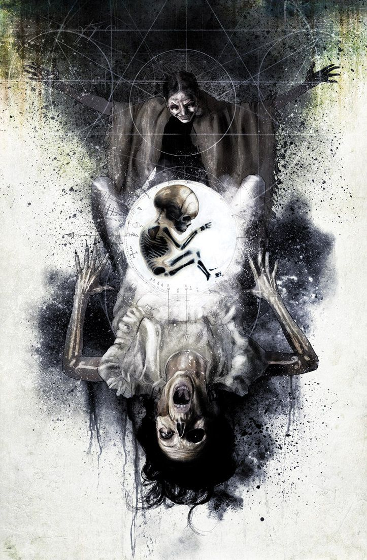 Silent Hill splash page by Menton J. Matthews III