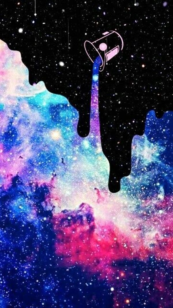 40 Super Cool Milky Way Paintings For Outerspace Lovers Buzz 2018 Art Wallpaper Iphone Wallpaper Space Wallpaper Iphone Cute