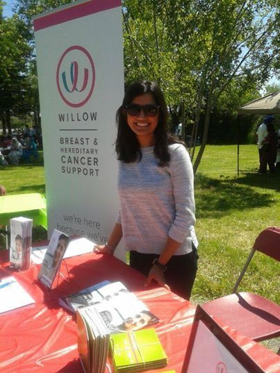 Willow's Rennu Rahul enjoying the sunshine at the Punjabi Community Health Services' 5th Annual Senior's Mela!
