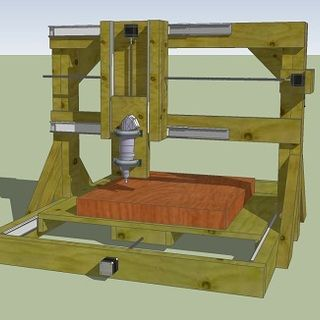 Innovative Backhoe Plans Free Diy Cnc Router Plans Homemade Woodworking Hold Down