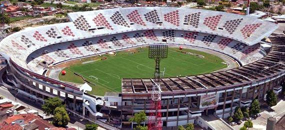 Arruda Stadiun - Santa Cruz F. C. , 66.000 persons. Brasil