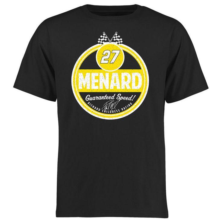 Paul Menard Route 66 T-Shirt - Black