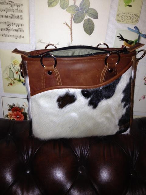 RosaBag 'Cow' - Beautiful camerabag!