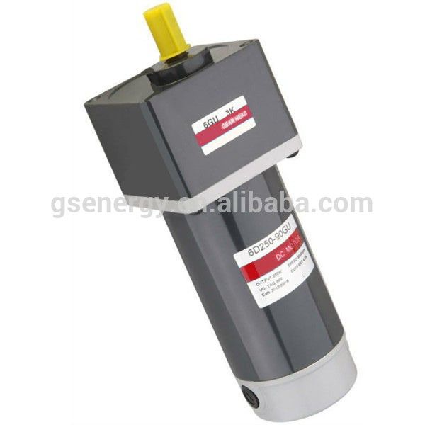 High Torque 250W Brush Pinion Shaft Waterproof 12V DC Electric Motor