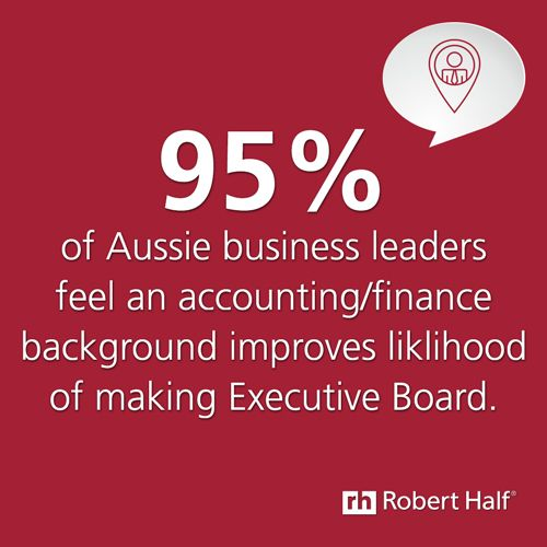 Benefits of an #accounting #finance background. For more insights, visit http://www.roberthalf.com.au/salary-guides