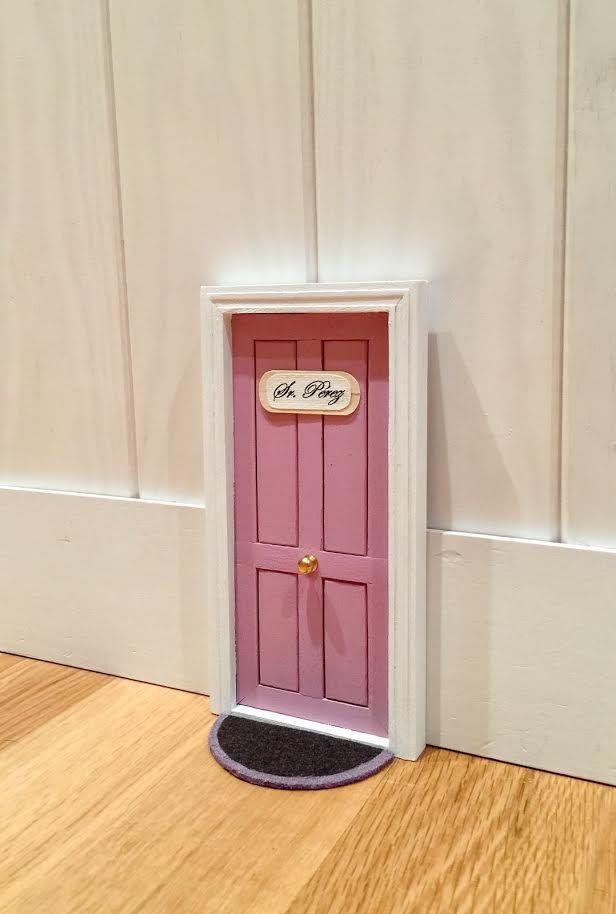 Puerta del ratoncito Pérez de ColorfulWoodStore en Etsy