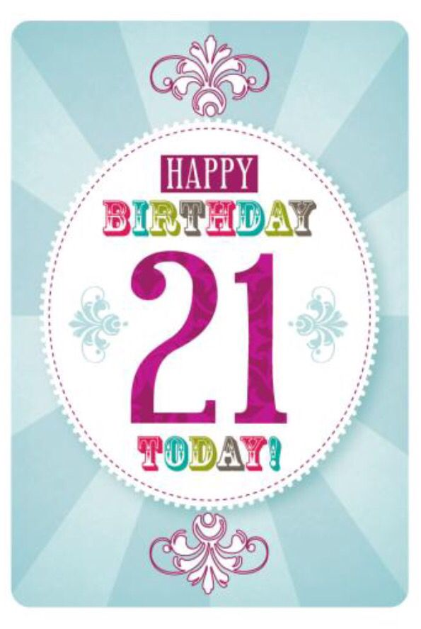 The 25 best 21st birthday wishes ideas – 21 Birthday Greeting