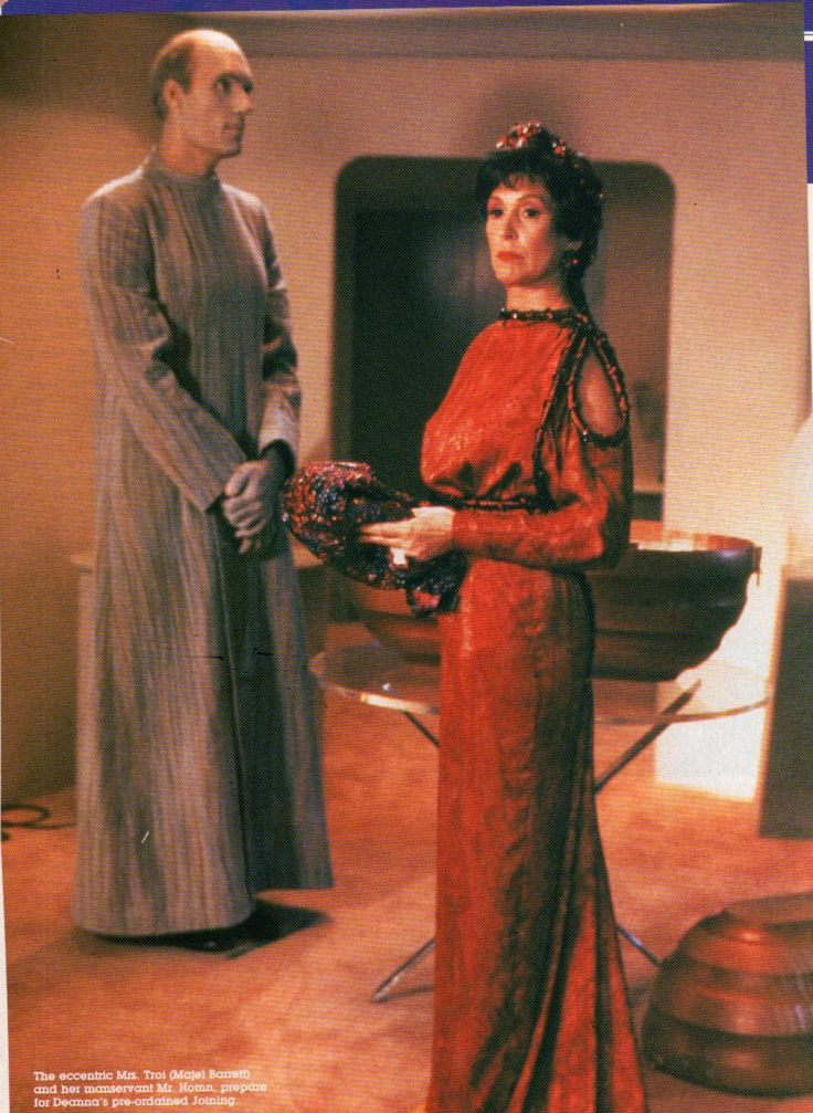 Photo of Lwaxana Troi for fans of Star Trek-The Next Generation.