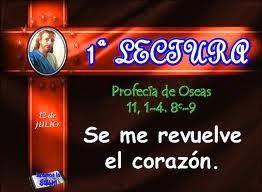 LECTURAS DEL DIA: Lecturas y Liturgia del 10 de Julio de 2014
