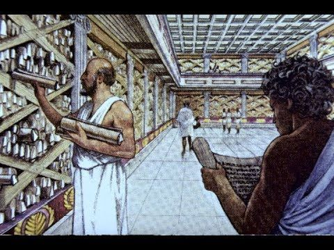 Documentary The Ancient Library of Alexandria Egypt History
