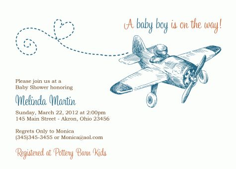 25+ best ideas about vintage airplane theme on pinterest | vintage, Baby shower invitations