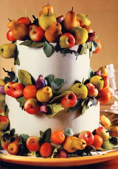 This is STILL my favorite Sylvia Weinstock cake. It is what our wedding cake was SUPPOSED to look like.  But didn't!  :)