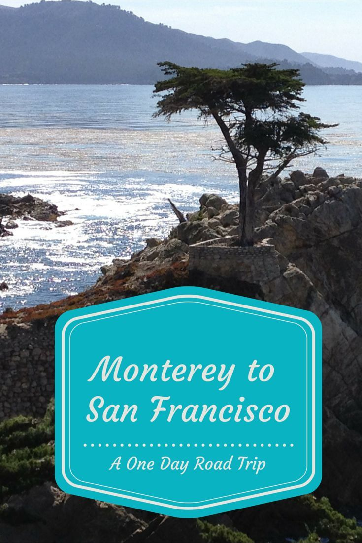 Driving up HWY 1 is a great way to spend a day. Check out my favorite road trip. Monterey to San Francisco.