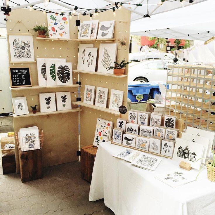 Pop up shop market display idea
