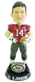 Tampa Bay Buccaneers Brad Johnson Super Bowl 37 Ring Forever Collectibles Bobblehead