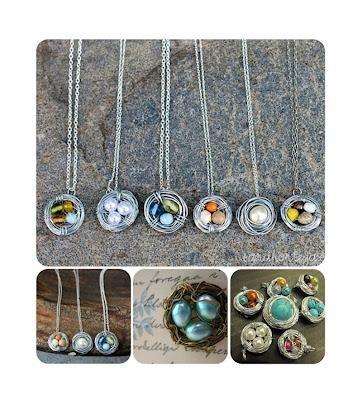 DIY Wire Wrapped Birds Nest Necklace DIY Jewelry DIY Necklace